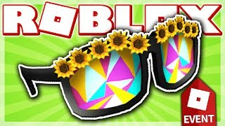 HOW TO GET THE SUNFLOWER SUNGLASSES!! (ROBLOX SUMMER TOURNAMENT EVENT 2018 - The Doom Wall 2!)