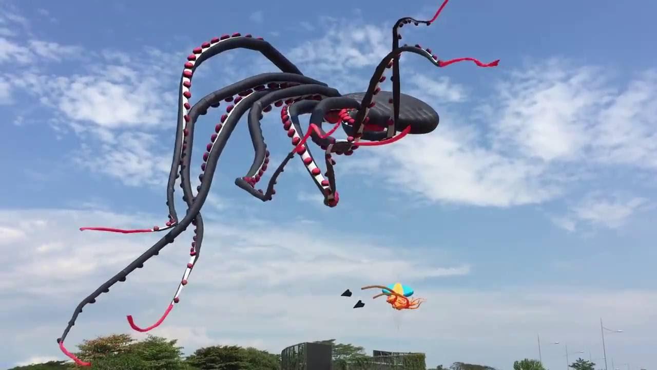 Воздушный змей Радужная Звезда 3D - YouTube