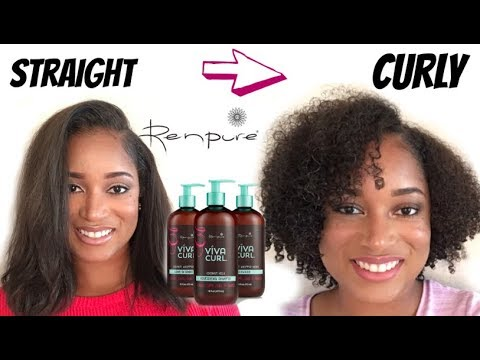 how-to:-straight-to-curly-routine-|-using-renpure-viva-curl-line