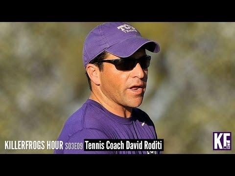 KFHour S03E09: TCU Tennis Coach David Roditi