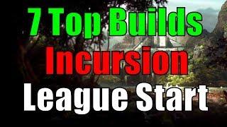 [3.3] 7 Top Builds zum League Start - Maps, Bosse & Lab - PoE Incursion [german]