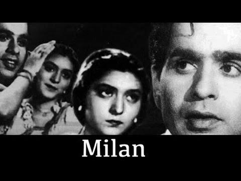 Milan (1946 film)  Hindi Full Movie | Dilip Kumar | Mira Misra | Ranjana | Hindi Classic Movies