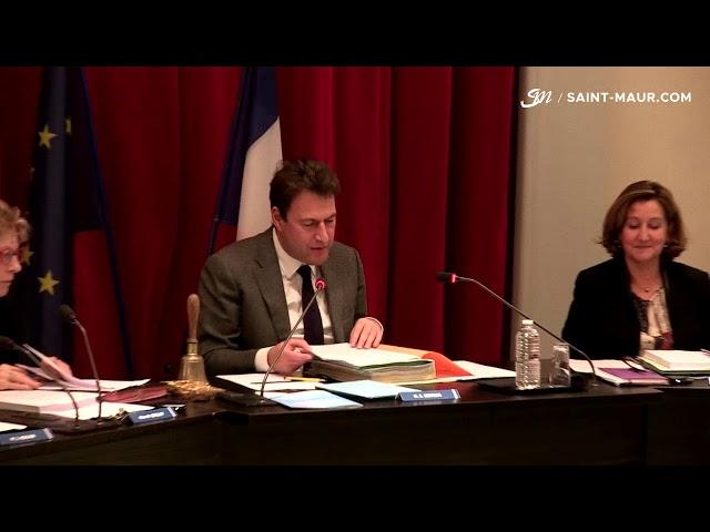 Vidéo Conseil Municipal du 21 décembre 2017