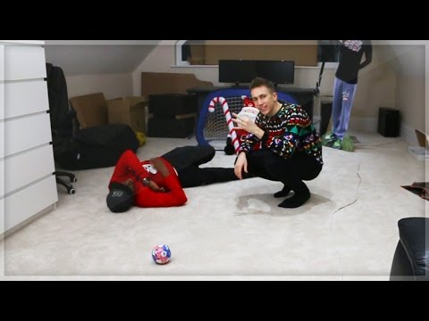 Thumbnail: CHRISTMAS INDOOR FOOTBALL CHALLENGE!