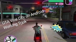 How to Download GTA vice on Android 💯 Working trick .