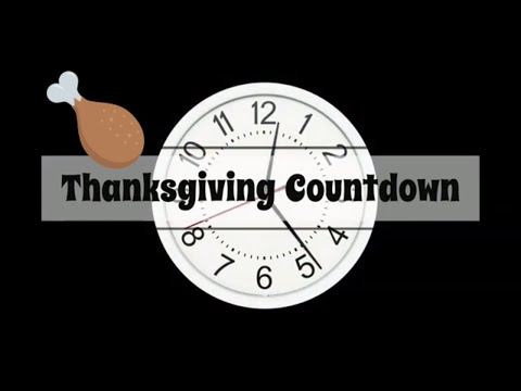 Countdown / How Many Days Until Thanksgiving In The United States?