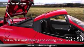 Ferrari 458 Spider 2012 More Detail New Car Commercial - Carjam Car Radio Show