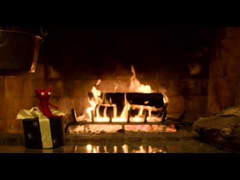 Yarny's Yule Log Video | 50 Minutes – Unravel Game