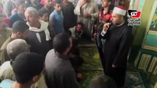 تشييع جثمان «شهيد العريش» بمسقط رأسه في بني سويف
