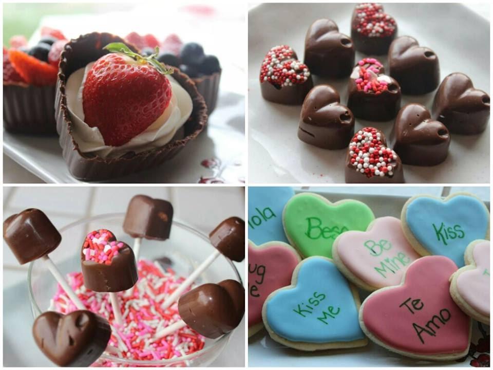 Postres para san valentin 3 ideas para san valentin - Dulces de san valentin ...