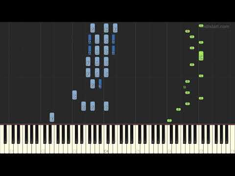 Movie Themes - The Sting (Piano Tutorial) [Synthesia]