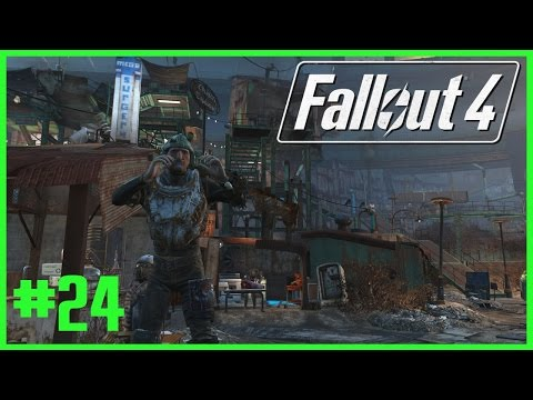 Fallout 4 Lightly Modded Playthrough Part 24 - Mass Pike Tunnel, Paint & Baseball