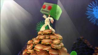 Play as Mr. Destructoid in BurgerTime World Tour!