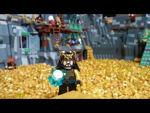 lego the hobbit moc kingdom of erebor over 10000 pieces