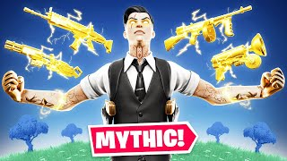 I Found ALL Mythic Weapons in ONE Game! (Fortnite Challenge)
