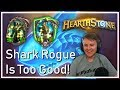 Absurd Shark Rogue Vs. Paladin Game // Miniature Warfare Brawliseum Tavern Brawl
