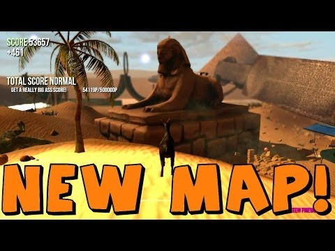 Goat Simulator | NEW MAP! Abu Goat Desert Map - YouTube