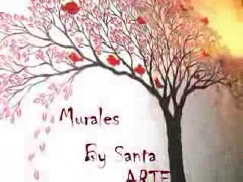 DECORACINMURALES MUEBLES Y ESPEJOS PINTADOS  YouTube
