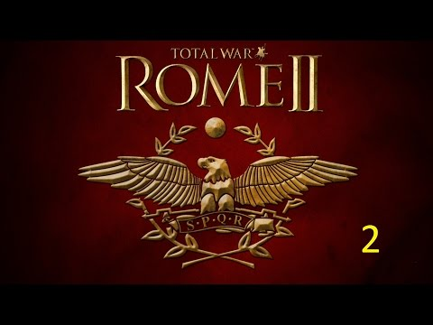 Lets Play Rome II Total war Massilia Hard Playthrough part 2