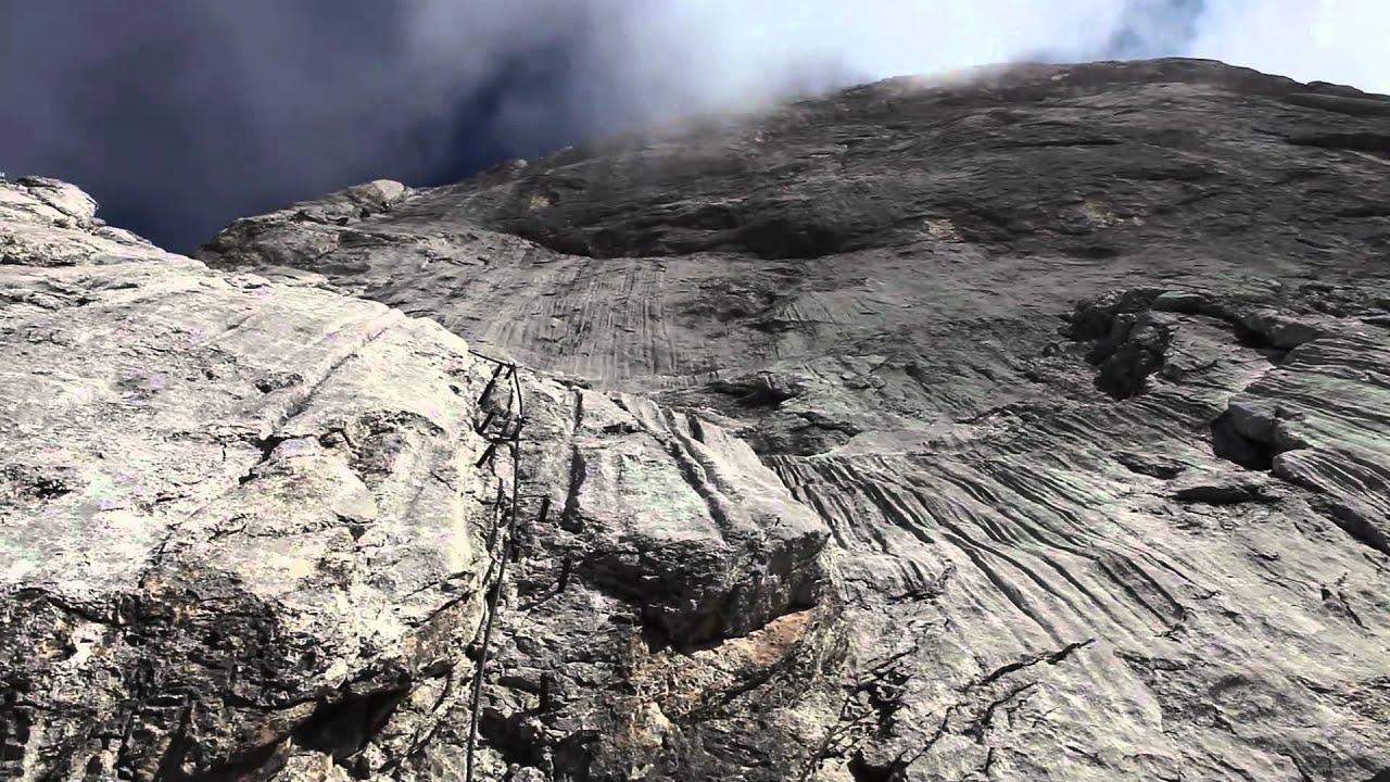 Klettersteig Johann Dachstein : Johann klettersteig und hoher dachstein youtube