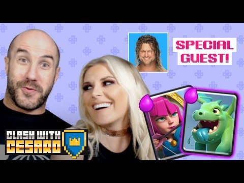 RENEE YOUNG begins her CLASH JOURNEY with CESARO!!! (feat. DOLPH ZIGGLER) — Clash With Cesaro #13