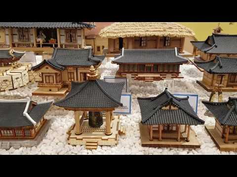 Korean Tranditional Houses Building Design