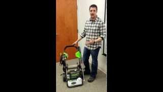 Greenworks 2000 PSI 1.2GPM Electric Pressure Washer
