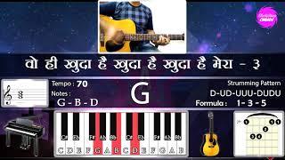 chords-wohi-khuda-hai-mera