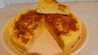 Пирог с яблоками в микроволновке за 10 минут