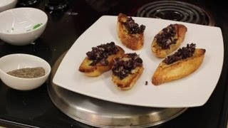 Recipe For A Roasted Vegetable & Goat Cheese Appetizer : Love For Goat Cheese