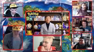 YouTuber REACTION zum Pokemon Ultrasonne & Ultramond - Reaction MashUp