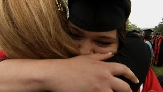 A college graduate's challenging journey to success