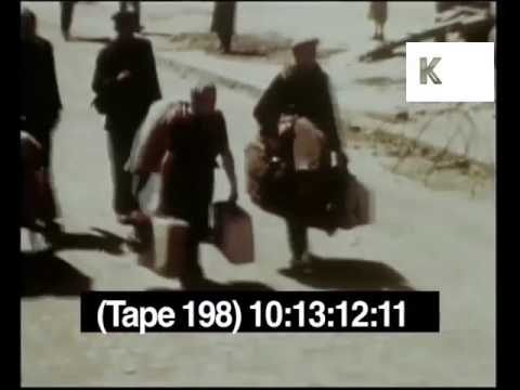 1940s Post War Germany, Displaced People, Refugees, WWII