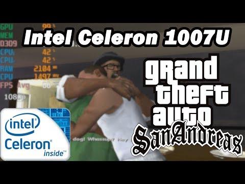 Intel Celeron 1007U \ Grand Theft Auto: San Andreas @1080p Low Settings (1,5GHz CPU) (4GB RAM)