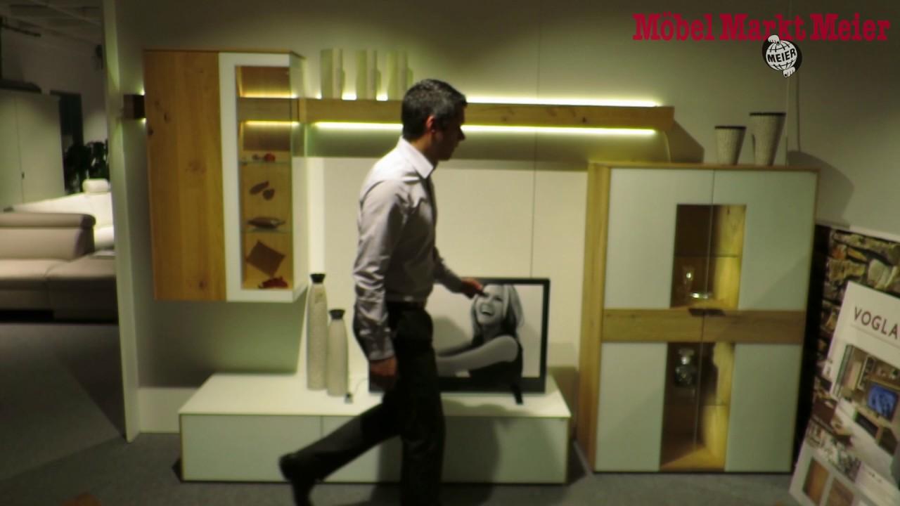 voglauer v solid wohnwand youtube. Black Bedroom Furniture Sets. Home Design Ideas