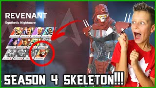 NEW SKELETON IN SEASON 4 IS EPIC!!!