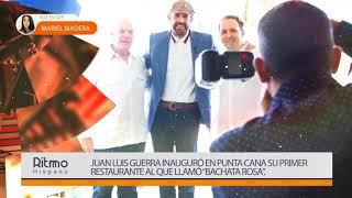 Juan Luis Guerra inauguró en Punta Cana su primer restaurante al que llamó Bachata Rosa
