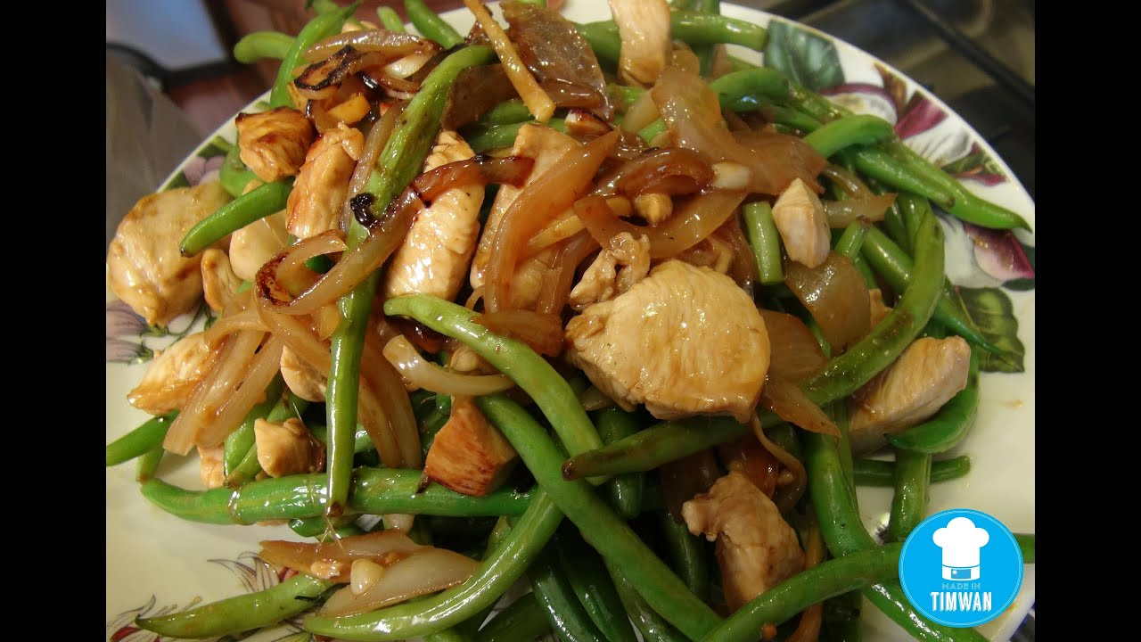 Quick fire recipe chicken and string beans youtube forumfinder Gallery
