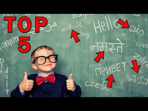 Top 5 nejtěžších jazyků světa