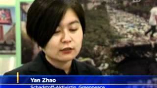 "Greenpeace: ""Textilindustrie verdreckt Chinas Flüsse"