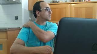 צוואר תפוס - כאבים בכתפיים - תרגיל טיפול