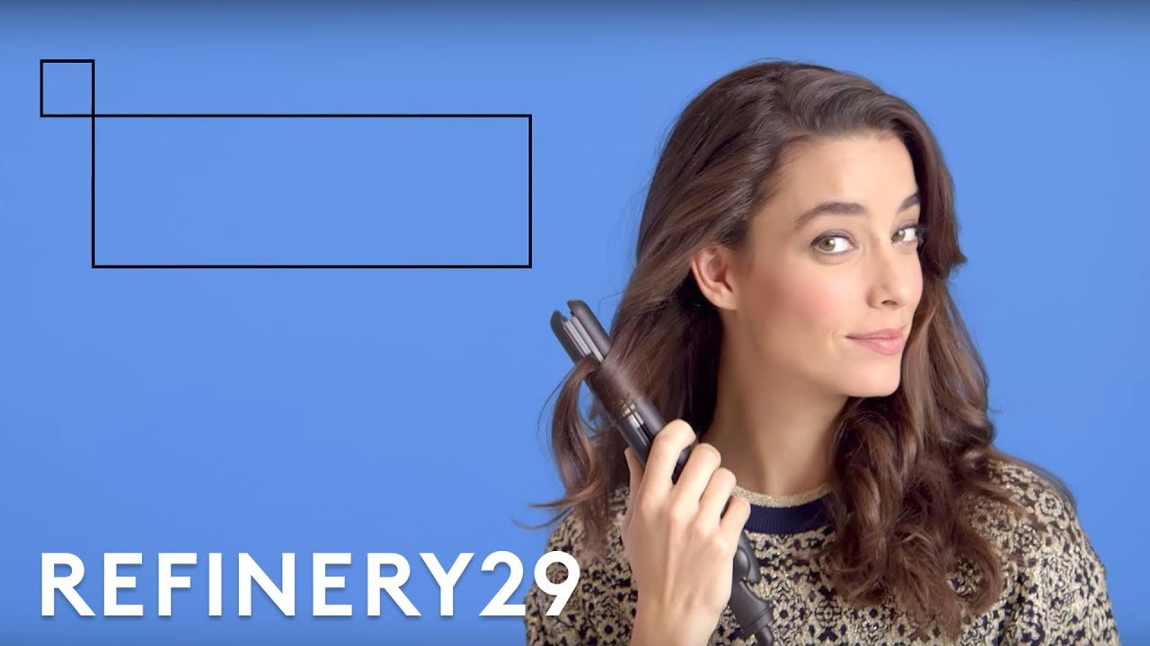 We Try 3 Different Curls With A Flat Iron | Beauty Prep ...