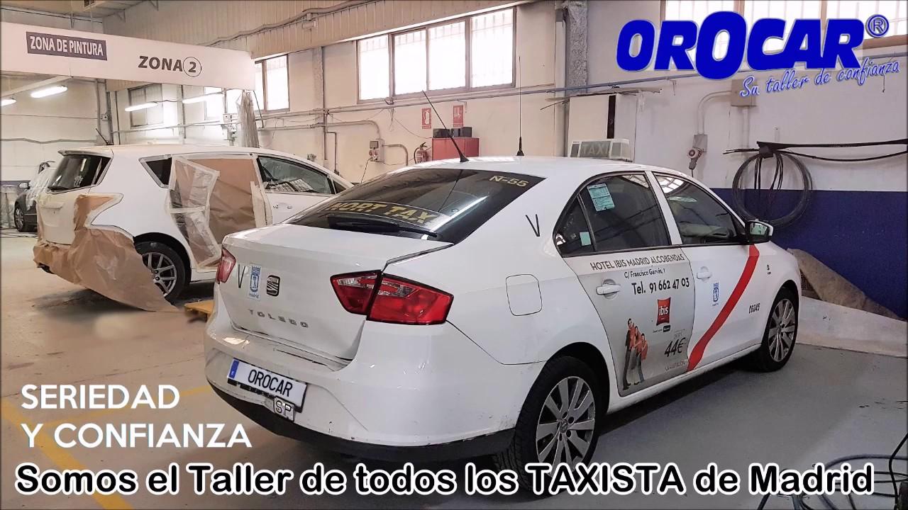 Taller De Taxis Mecanico En Madrid Leganes Taller Taxis Chapa Y