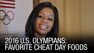 2016 U.S. Olympians: Favorite Cheat Day Foods