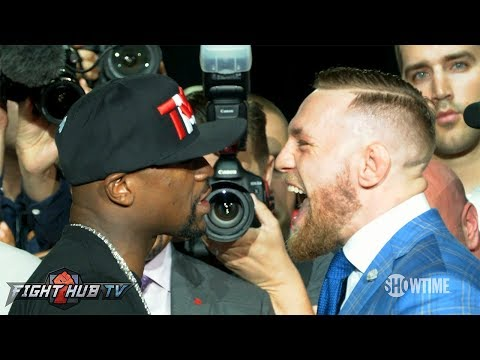 Thumbnail: TORONTO FACE OFF! FLOYD MAYWEATHER VS. CONOR MCGREGOR FACE TO FACE - FULL VIDEO