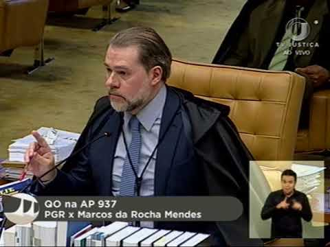 Pleno - Suspenso julgamento sobre foro por prerrogativa de função de parlamentares federais (2/2)
