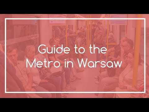 Guide to the Metro in Warsaw | Warsaw Local