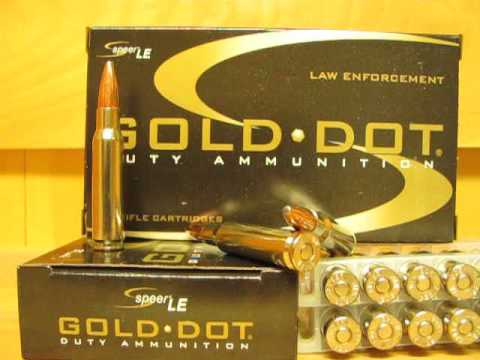 308 Win Speer Gold Dot LE 168 grain Gold Dot Soft Point GDSP Ammo - 24458  at SGAmmo com
