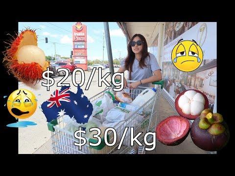 THE COST OF GROCERIES IN BRISBANE AUSTRALIA ❤️ | RHEA LORRAINE