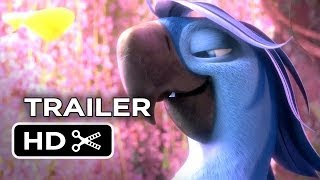 Rio 2 TRAILER 2 (2014) - Tracy Morgan, Anne Hathaway Animated Sequel HD